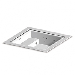 QUADRAT FULL OPTIONAL INCASSO Weiß, elektrisches Heizsystem